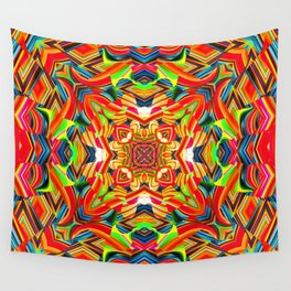 Red Daze Wall Tapestry
