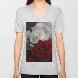 Valentine Inflorescence Unisex V-Neck