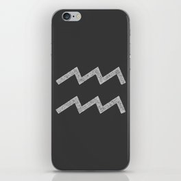Aquarius iPhone Skin