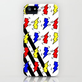 chubby bolt pattern iPhone Case