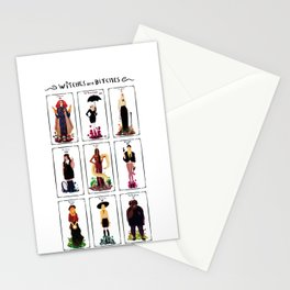 Witches are bitches  Stationery Cards