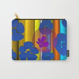purple flower in pomp Carry-All Pouch