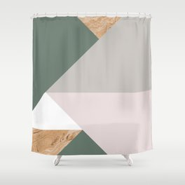 KALEIDOS #1 Shower Curtain