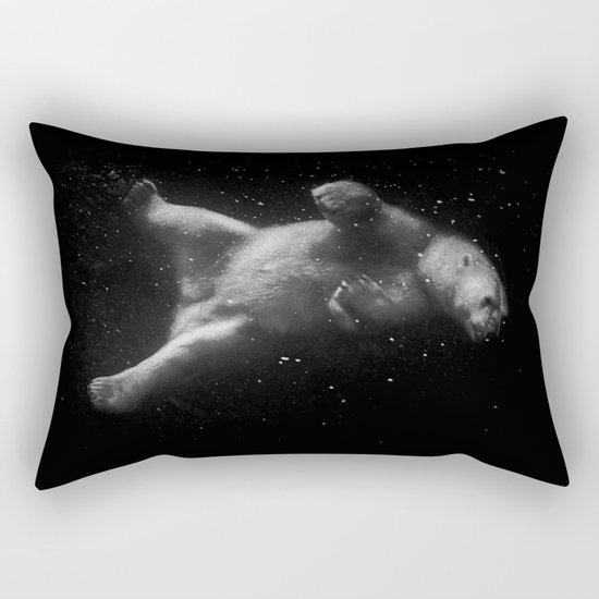Polar Bear Dream Rectangular Pillow