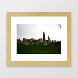 Harrison Field Framed Art Print