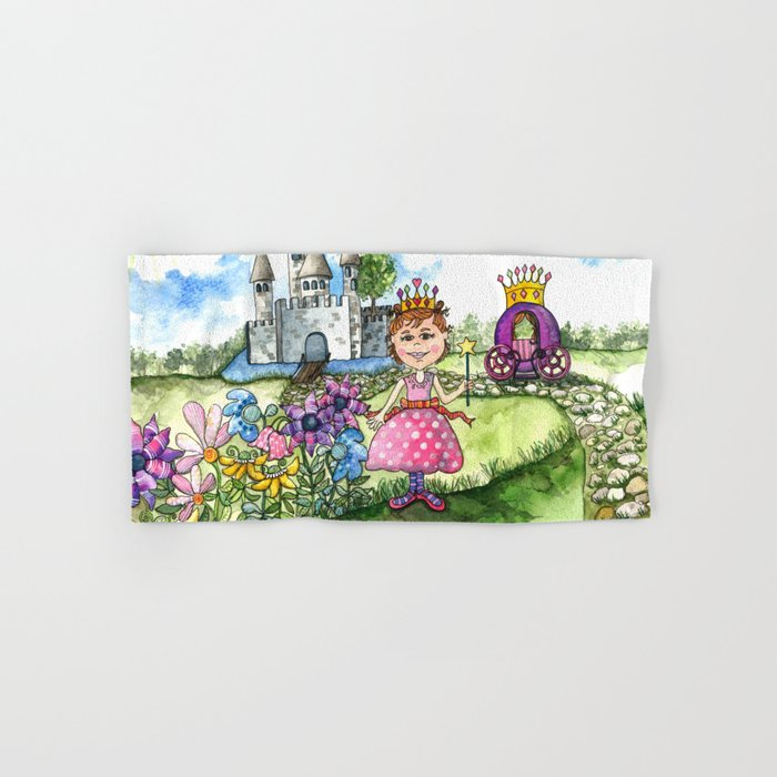 The Polka Dot Princess Hand & Bath Towel
