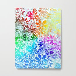 Flying Through Rainbows Metal Print