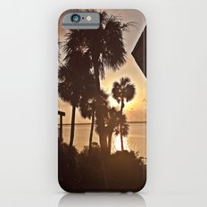 Palm Tree Silhouettes  iPhone 6s Slim Case
