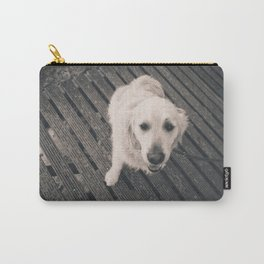 Puppy Love B&W Carry-All Pouch
