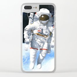 A nice flying machine Clear iPhone Case
