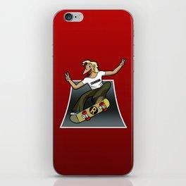 Pat The Skateboard Cat iPhone Skin