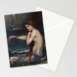 A MERMAID - WATERHOUSE Stationery Cards