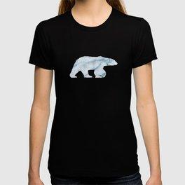 Light blue marble texture T-shirt
