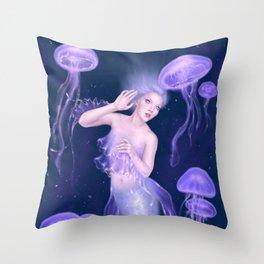 Bioluminescence Throw Pillow