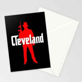 Cleveland mafia Stationery Cards