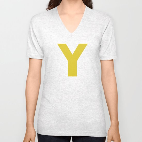 Y is for... Unisex V-Neck