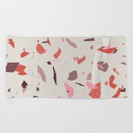 Rose Terrazzo - Light Beach Towel