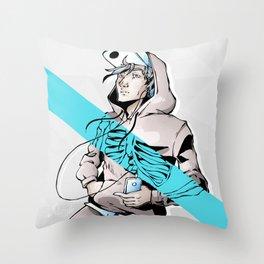 Coupure / #2 Throw Pillow