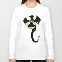 smaug Long Sleeve T-shirts featuring Smaug by Selis Starlight