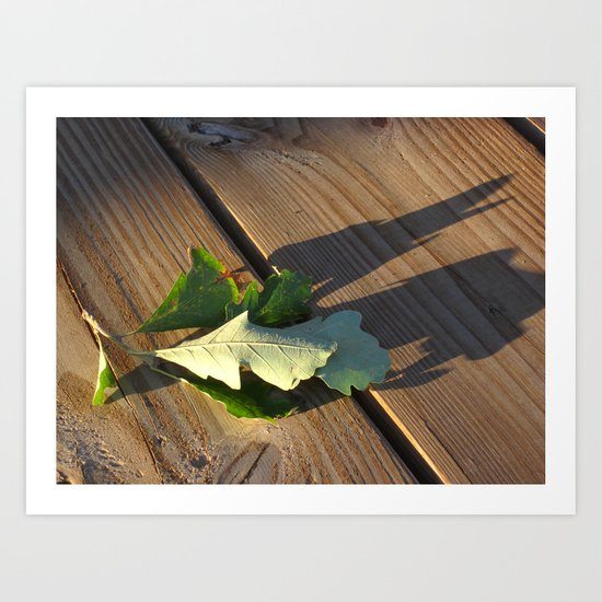 Leaves Me This Resting Place Art Print