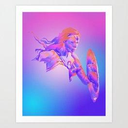 WonderWoman, Justice League Art Print