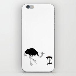 Ostriches Like Sugar Brioche iPhone Skin