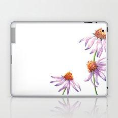 Watercolor Purple Cone Flower Laptop & iPad Skin