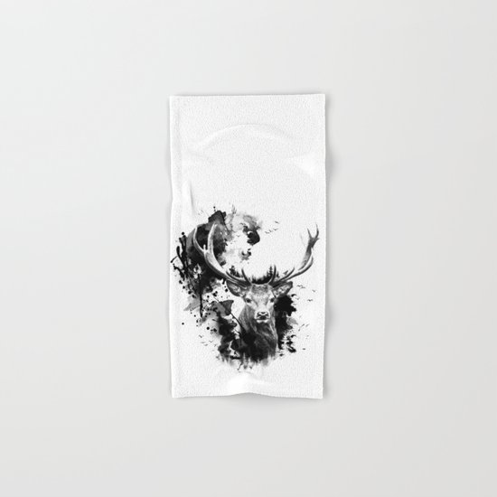 Once upon a Stag Hand & Bath Towel