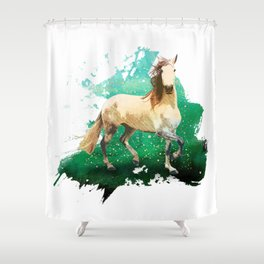 The wonderful horse Shower Curtain