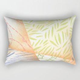 Free Form Lands Rectangular Pillow