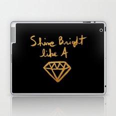 Shine (black gold edition) Laptop & iPad Skin