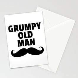 Grumpy Old Man Funny Quote Stationery Cards