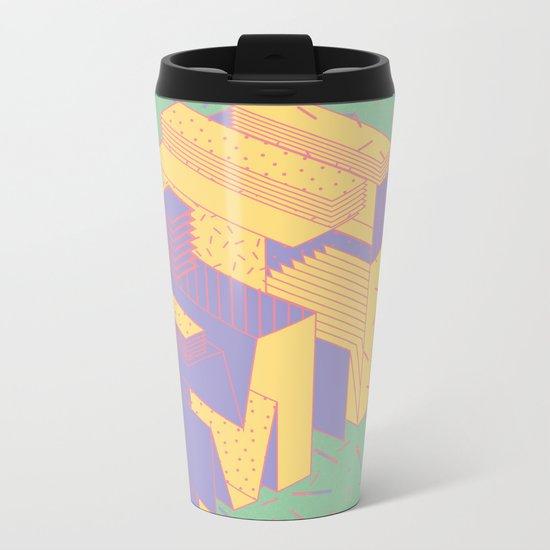 Organized/Disorganized Metal Travel Mug