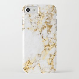 Luxe bright golden iPhone Case