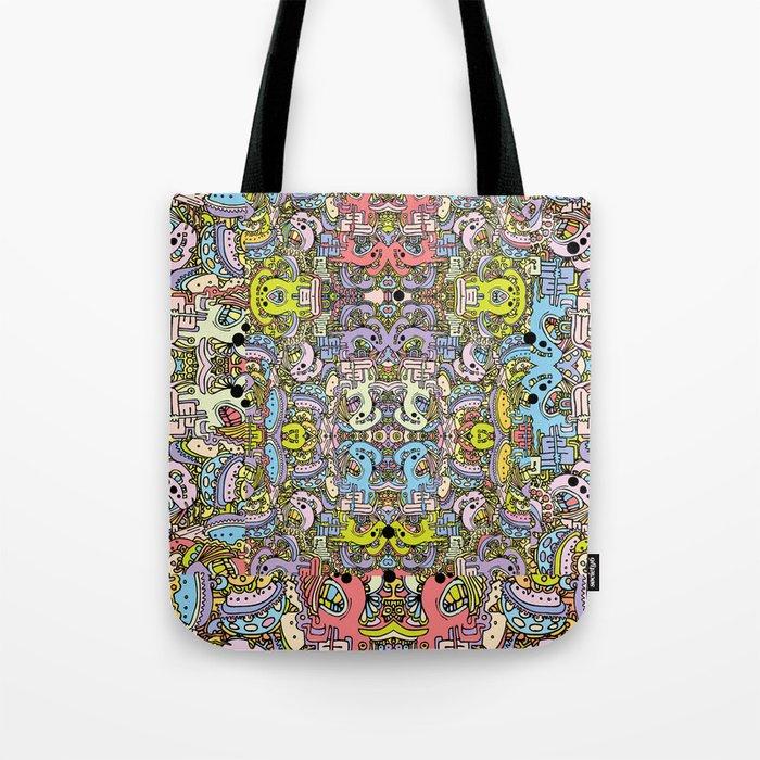 Cartooniverse Tote Bag