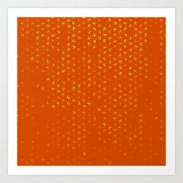 libra zodiac sign pattern yo Art Print