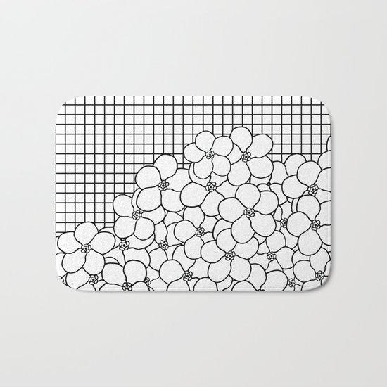 Forget Me Knot Grid Bath Mat