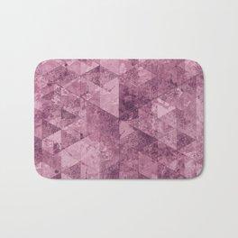 Abstract Geometric Background #28 Bath Mat