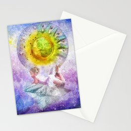 Little Dreamer Triptych Stationery Cards