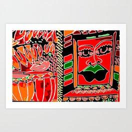 Big Up! Africa! Art Print
