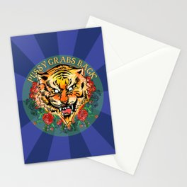 Pussy Grabs Back Stationery Cards