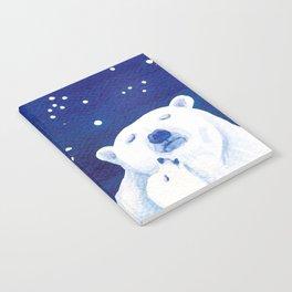 Polar bears, arctic animals Notebook
