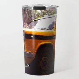 Yellow Taxi Travel Mug