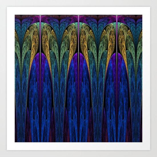Art Deco III Art Print