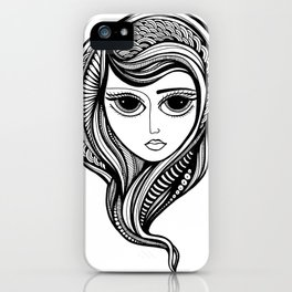 Tendrils #7 iPhone Case