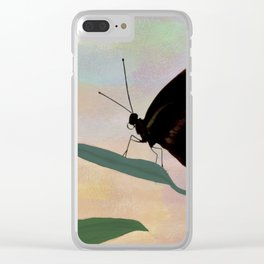 Butterfly Dream Clear iPhone Case