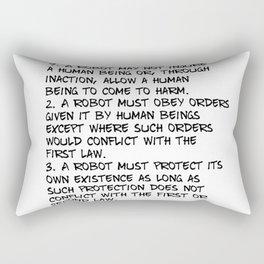 Three Laws Rectangular Pillow