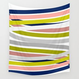 Colorful Strips Wall Tapestry
