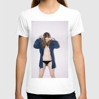 tape T-shirts featuring On Tape by Linas Vaitonis