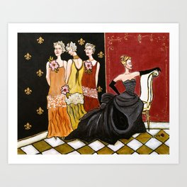 The Three Ugly Stepsisters Art Print